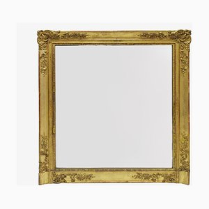 19th Century Square Mirror