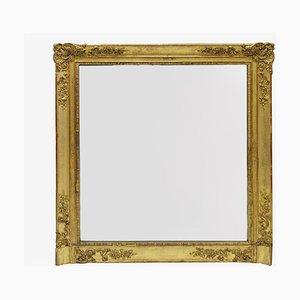 Spiegel mit Viereckigem Rahmen, 19. Jh