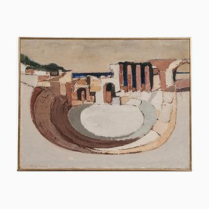 Arena Painting by Antoine Pentsch, 1957