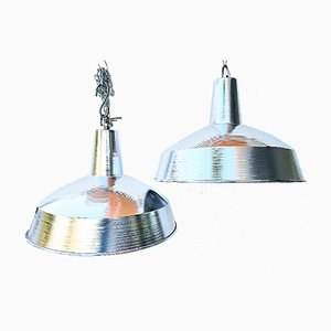 Lampes Industrielles de IEP, 1970s, Set de 3