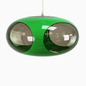Grüne Vintage Deckenlampe von Luigi Colani