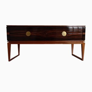 Macassar Sideboard with 4 Drawers, 1960s