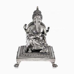 Antike Indische Statue von Ganesh Chaturthi, 1910er