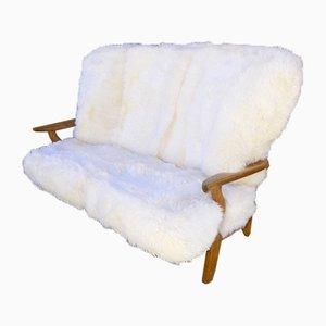 Sofa von Ico Luisa Parisi für Guillerme et Chambron, 1960er