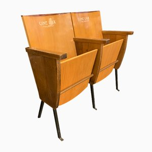 Theater Bench from Cinelux, 1960s
