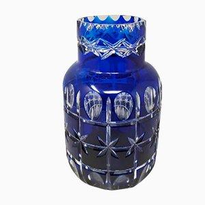 Vintage Italian Blue Vase by Creart, 1960s