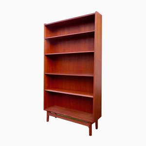 Danish Shelf with Tapered Shelf, 1960s