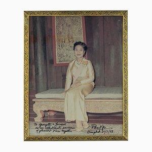 Vergoldetes Thailändisches Vintage Silber & Niello Fotorahmen, 1960er