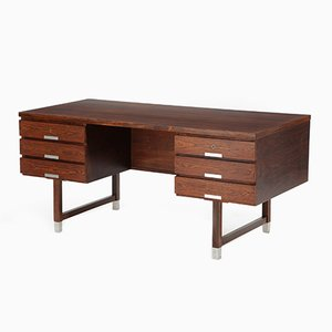 Mid-Century Danish Rosewood Desk by Eigil Petersen, 1970s
