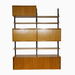 Modular Oak Shelving System by Poul Cadovius for Royal Cadovius, 1960s