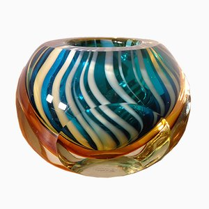 Italian Murano Glass Ashtray, 1960s