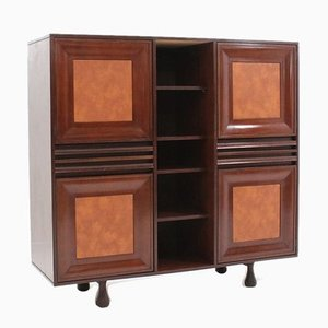Mid-Century Italian Rosewood Cabinet from Cantieri Carugati