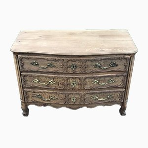 18th Century French Bleached Oak Chest of Drawers