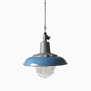 Vintage Industrial Pendant Lamp from Wilkasy A23, 1950s