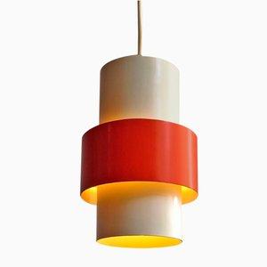 Danish Pendant Lamps from Fog & Mørup, 1960s, Set of 2