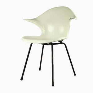Fiberglass Shell Lounge Chair, 1970s