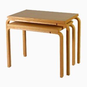Satztische von Alvar Aalto für Artek, 2000er, 2er Set