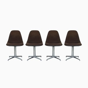 Mid-Century La Fonda Side Chairs by Charles & Ray Eames for Herman Miller, Set of 4