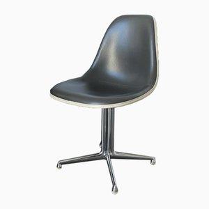Chaise d'Appoint Mid-Century Bleue et Grise La Fonda par Charles & Ray Eames pour Vitra