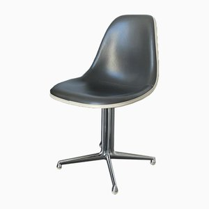 Mid-Century Blue and Grey La Fonda Side Chair by Charles & Ray Eames for Vitra