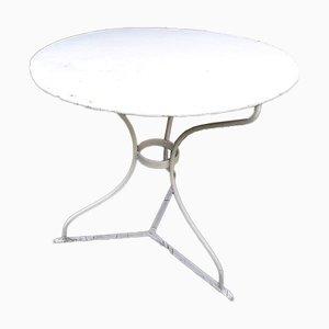 Table de Jardin Antique en Métal