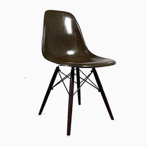 Chocolate DSW Stuhl von Charles & Ray Eames für Herman Miller, 1980er