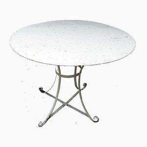 Antiker Gartentisch aus Metall