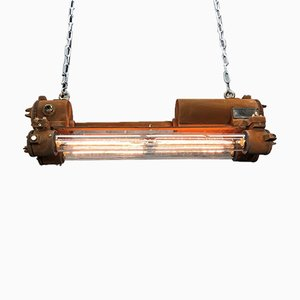 Vintage Industrial Edison Flameproof Strip Light from Daeyang