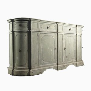 Antique Italian Painted Sideboard