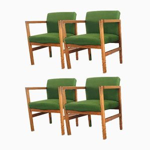 Mid-Century Armchairs from G Stone Ltd, 1970s, Set of 4