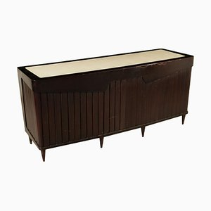 Mid-Century Italian Veneer and Polyester Shop Display Counter by Osvaldo Borsani