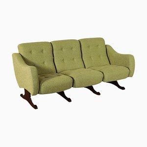 Italienisches Messing Sofa, 1960er