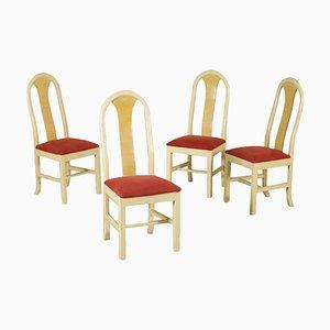 Vintage Beistellstühle, 4er Set