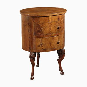 Small 19th Century Round Chest of Drawers