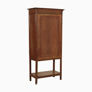 Small Vintage Mahogany Stipo-Bookcase
