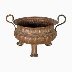 Antique 17th Century Italian Copper Planter