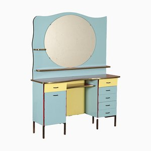 Vintage Barber Dressing Table in Formica, Italy, 1960s