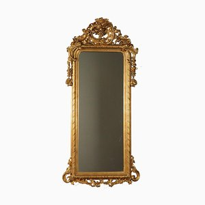 Mirror with Gilded Wood Frame, France, 19th Century
