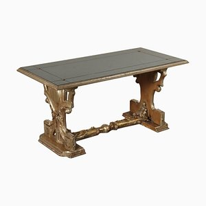 Vergoldeter Tisch aus Holz, Italien, 20. Jahrhundert