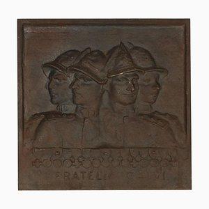 The Calvi Brothers Sculpture by Timo Bortolotti, 20th Century