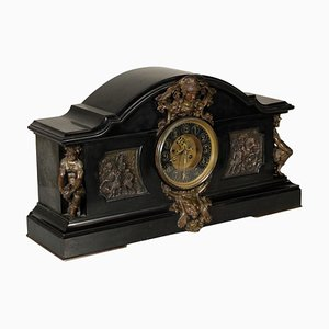 19th Century Marble Table Clock
