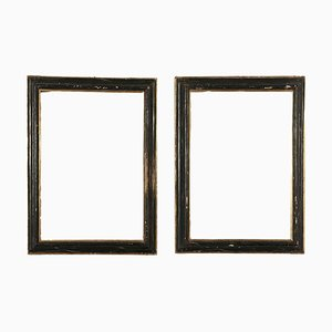 Limewood Frames, Italy, 17th Century, Set of 2