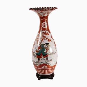 Trompetenvase aus Porzellan, Frühes 20. Jahrhundert