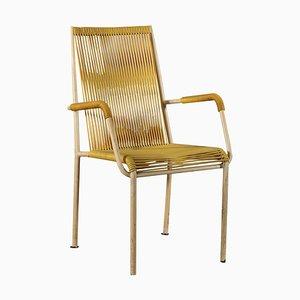 Italienischer Lackierter Metall Stuhl, 1960er