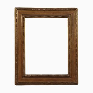 Gilded Frame in Wood, Italy, 18th Century
