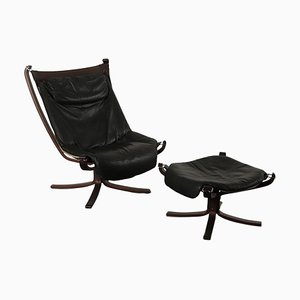 Bentwood and Leather Armchair from Frau, 1980s