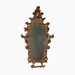 Specchio in legno dorato, Italia, XIX secolo