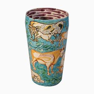 Keramik Schirmständer, 1970er
