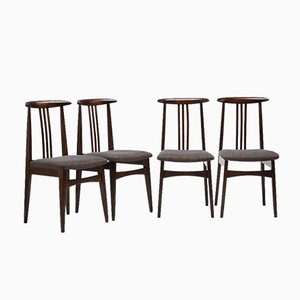 Model 200-100/B Chairs by Zieliński Mieczysław for Opolski Ośrodek Przemysłu Meblarskiego, 1970s, Set of 4