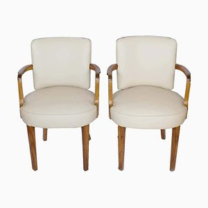 Desk Chairs, 1930s, Set of 2